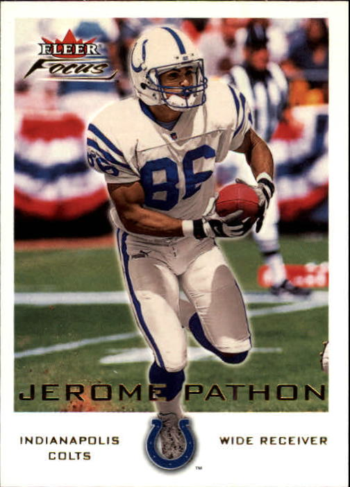 2000 Fleer Focus #117 Jerome Pathon