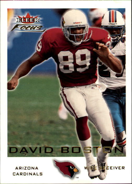 2000 Fleer Focus #122 David Boston