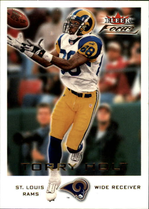 2000 Fleer Focus #172 Torry Holt