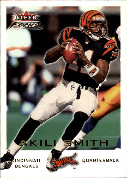 2000 Fleer Focus #195 Akili Smith