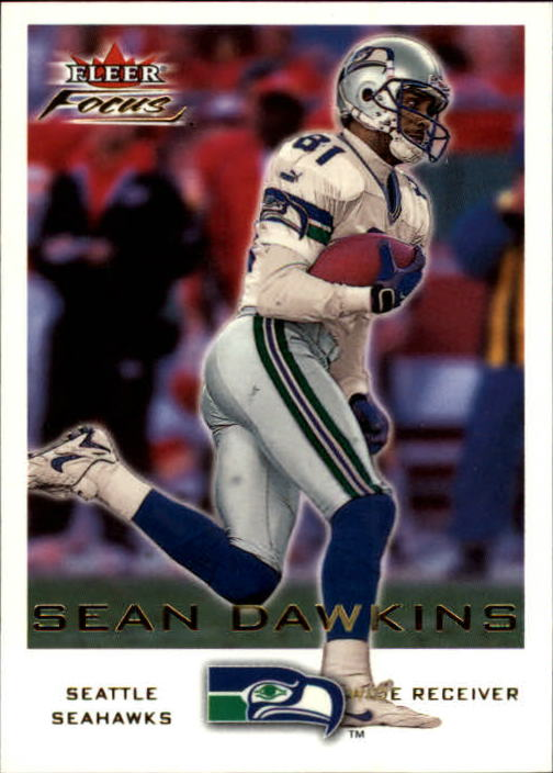 2000 Fleer Focus #197 Sean Dawkins