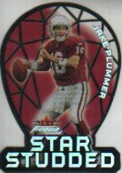 2000 Fleer Focus Star Studded #16 Jake Plummer