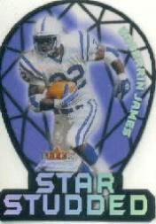 2000 Fleer Focus Star Studded #19 Edgerrin James