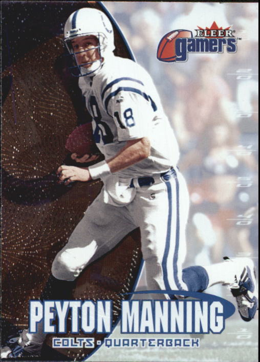 2000 Fleer Gamers #18 Peyton Manning