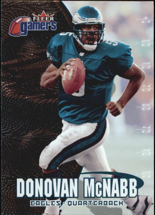 2000 Fleer Gamers #30 Donovan McNabb