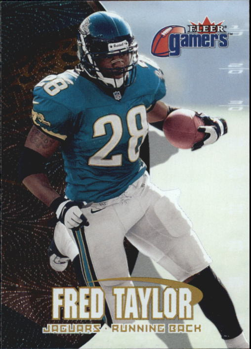 2000 Fleer Gamers #38 Fred Taylor