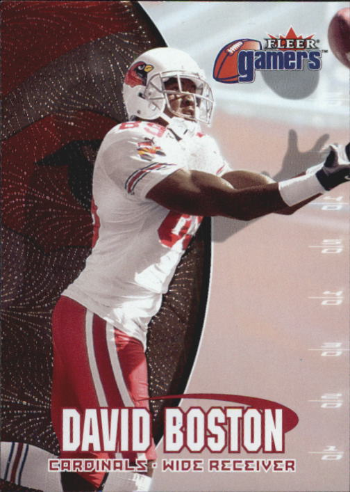 2000 Fleer Gamers #73 David Boston
