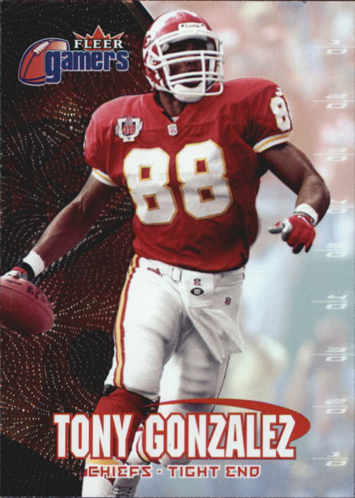 2000 Fleer Gamers #96 Tony Gonzalez