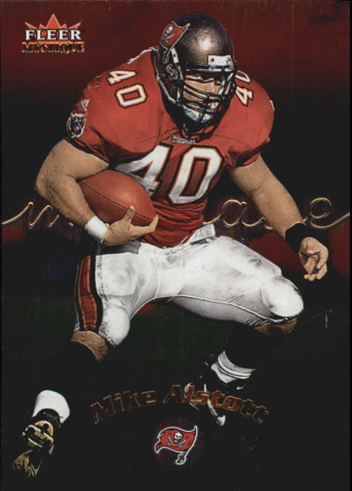 2000 Fleer Mystique #6 Mike Alstott