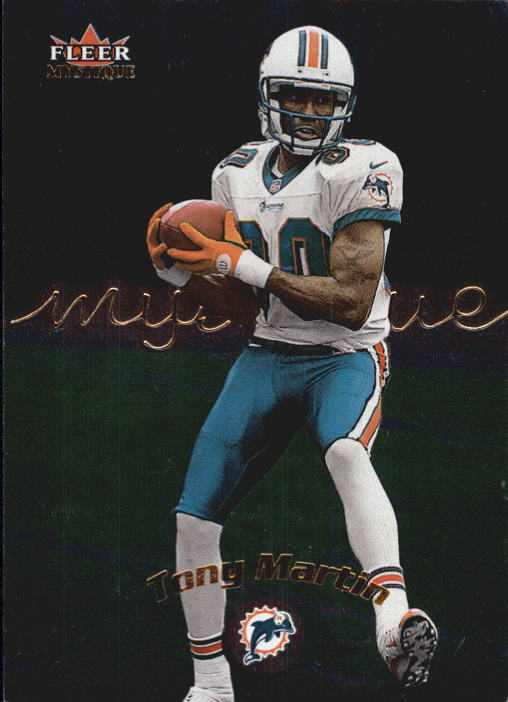 2000 Fleer Mystique #7 Tony Martin