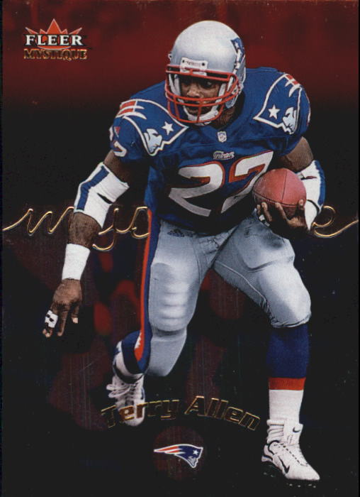 2000 Fleer Mystique #18 Terry Allen