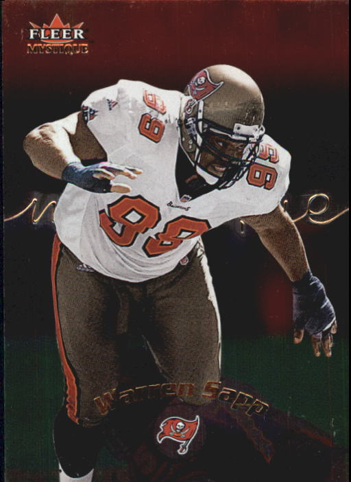 2000 Fleer Mystique #22 Warren Sapp