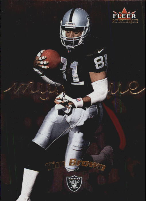 2000 Fleer Mystique #25 Tim Brown