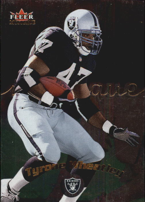 2000 Fleer Mystique #36 Tyrone Wheatley