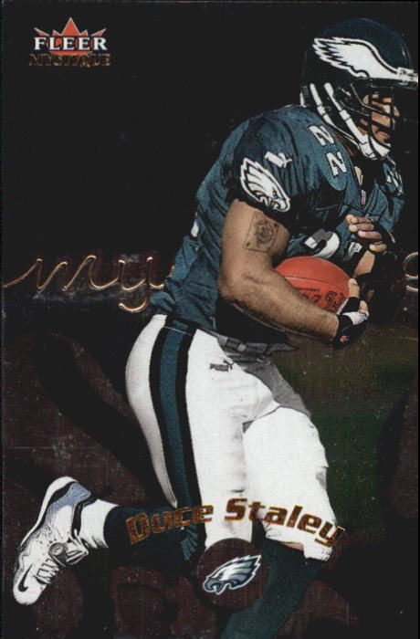 2000 Fleer Mystique #43 Duce Staley