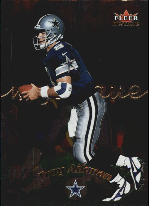 2000 Fleer Mystique #46 Troy Aikman