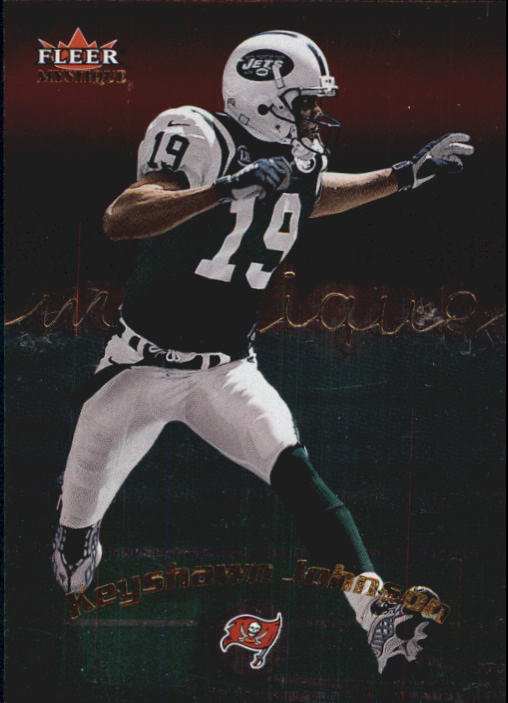 2000 Fleer Mystique #69 Keyshawn Johnson