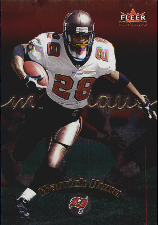 2000 Fleer Mystique #70 Warrick Dunn