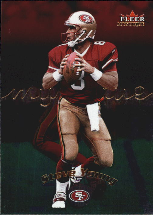 2000 Fleer Mystique #85 Steve Young