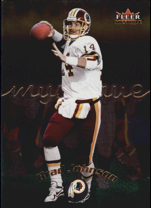 2000 Fleer Mystique #89 Brad Johnson
