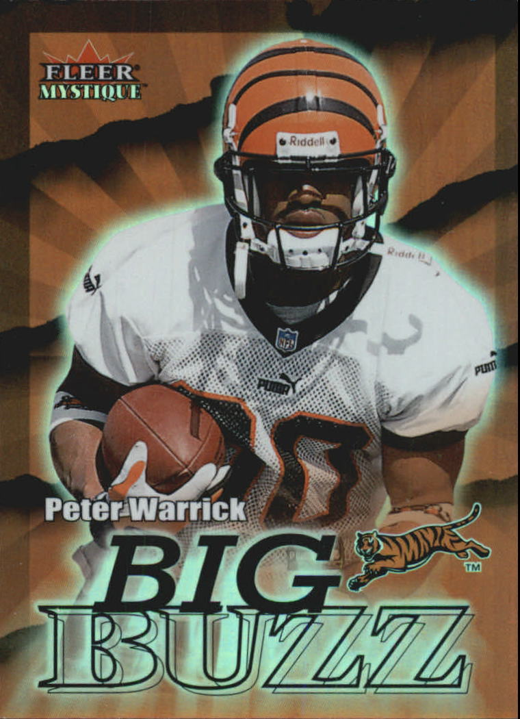 2000 Fleer Mystique Big Buzz #1 Peter Warrick