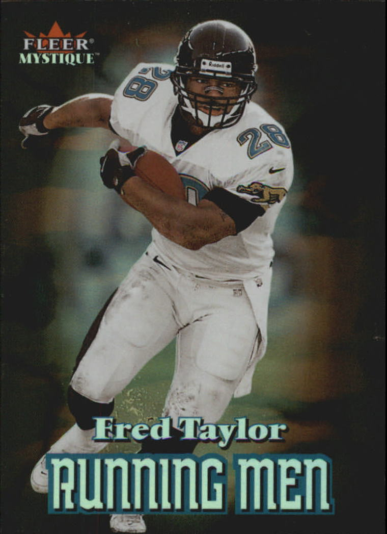 2000 Fleer Mystique Running Men #5 Fred Taylor
