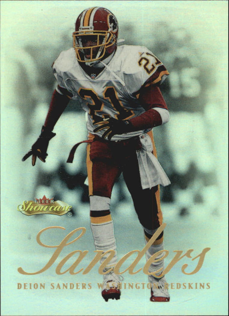 2000 Fleer Showcase #2 Deion Sanders