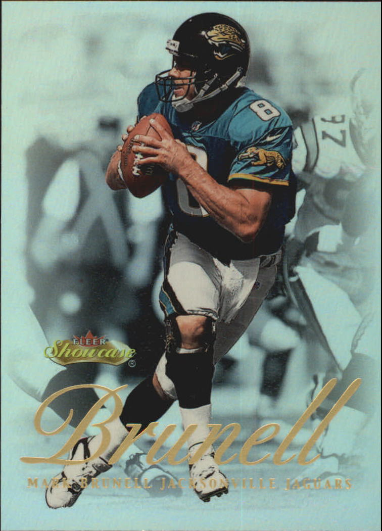 2000 Fleer Showcase #5 Mark Brunell
