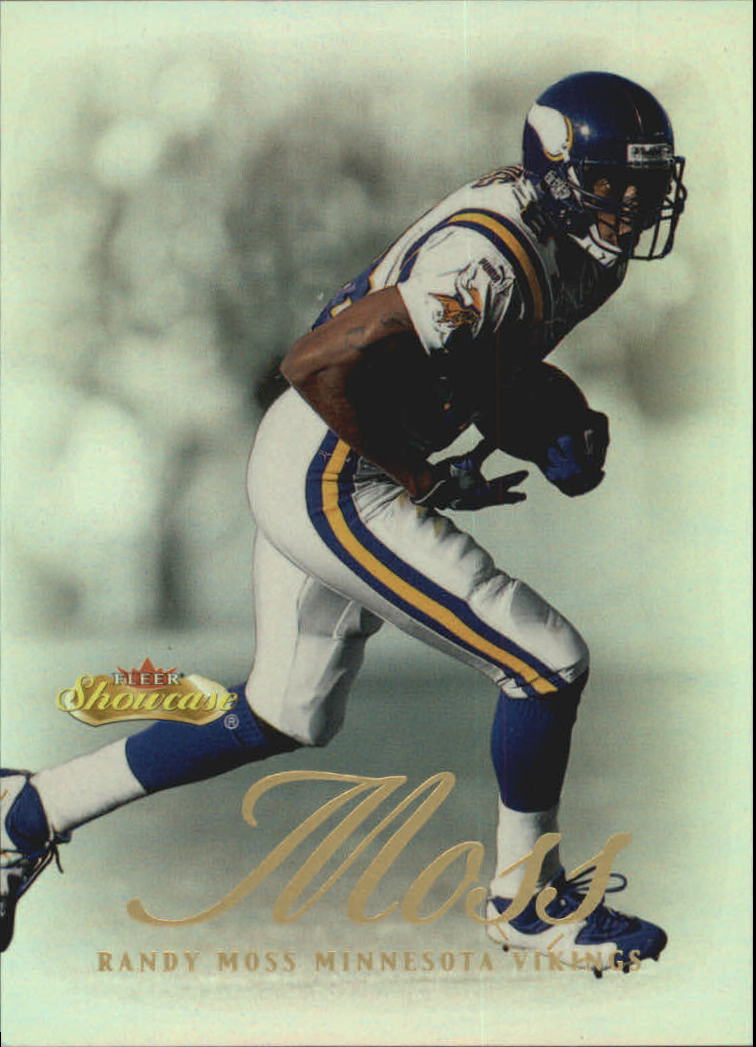 2000 Fleer Showcase #6 Randy Moss
