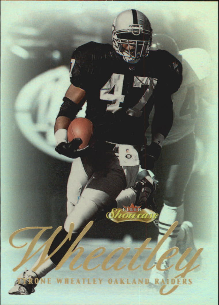 2000 Fleer Showcase #7 Tyrone Wheatley