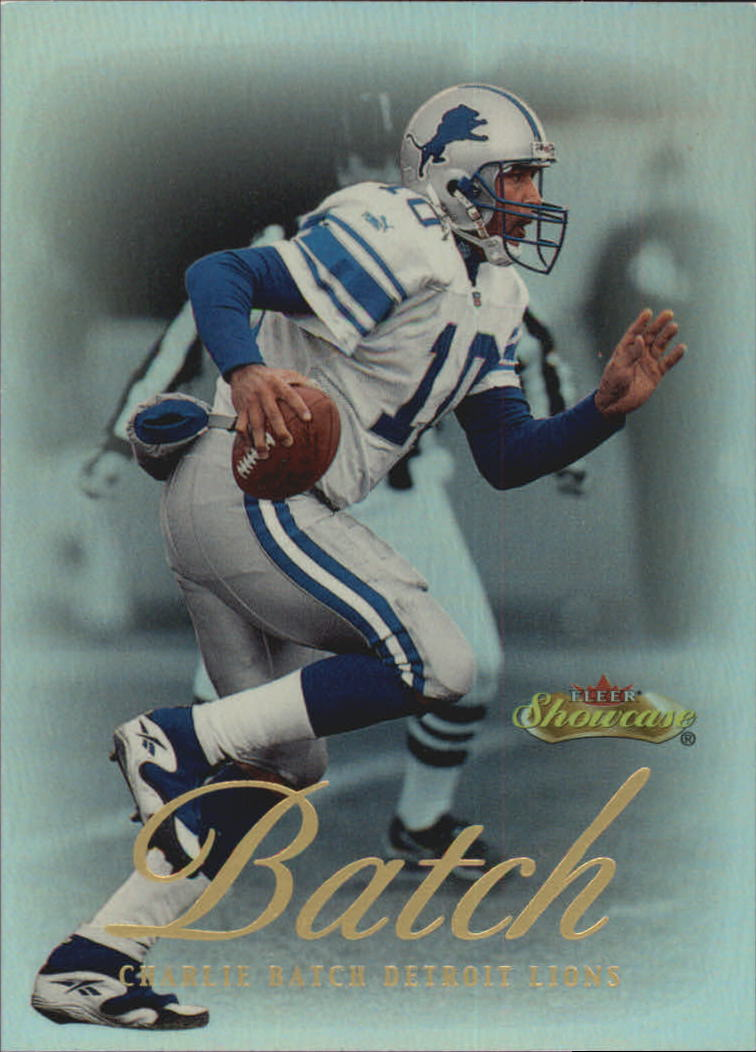 2000 Fleer Showcase #11 Charlie Batch