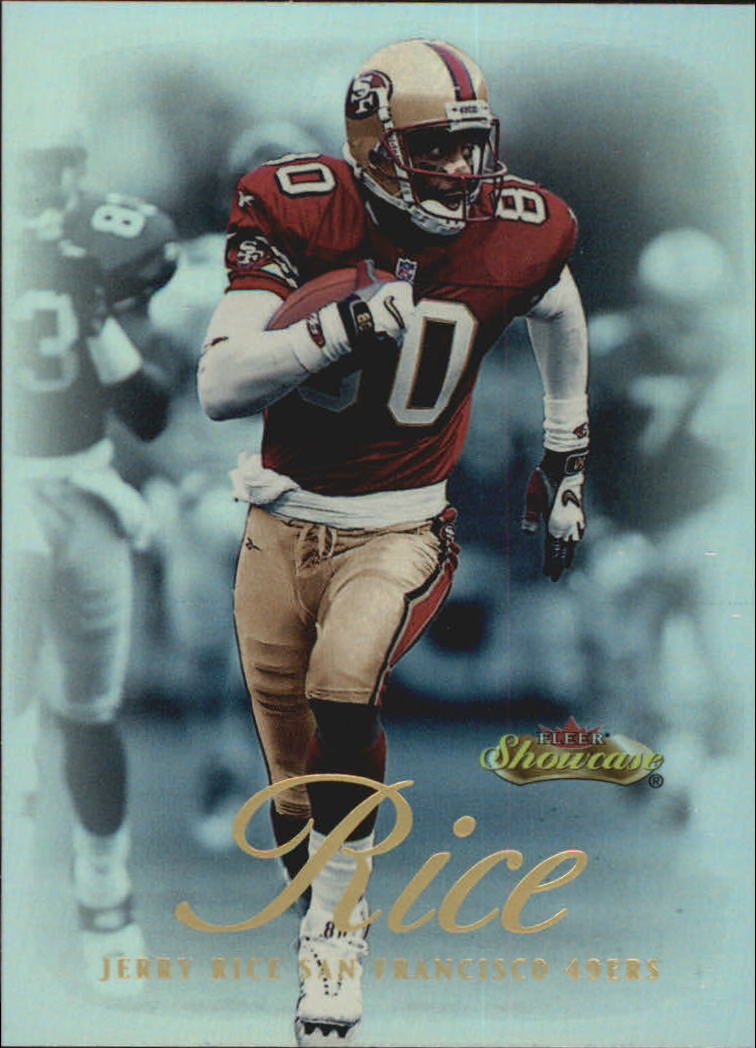 2000 Fleer Showcase #15 Jerry Rice