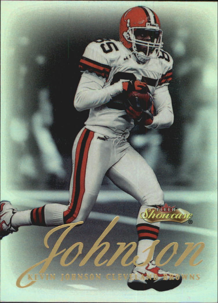 2000 Fleer Showcase #17 Kevin Johnson