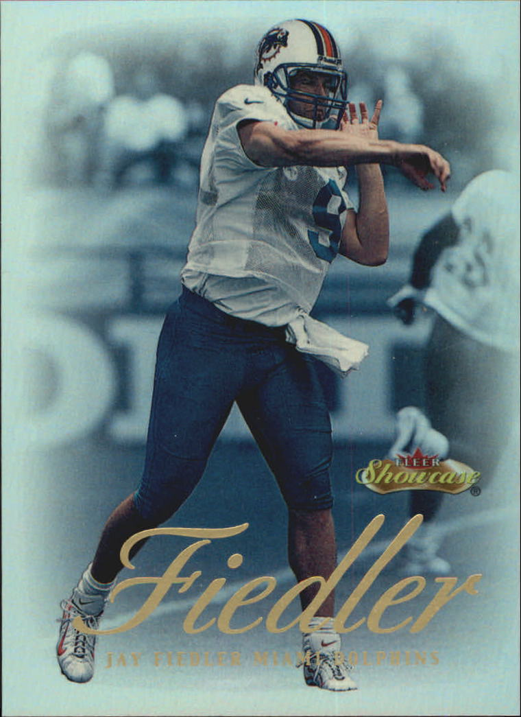 2000 Fleer Showcase #18 Jay Fiedler