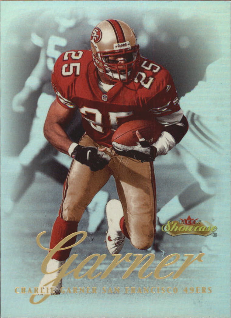 2000 Fleer Showcase #28 Charlie Garner