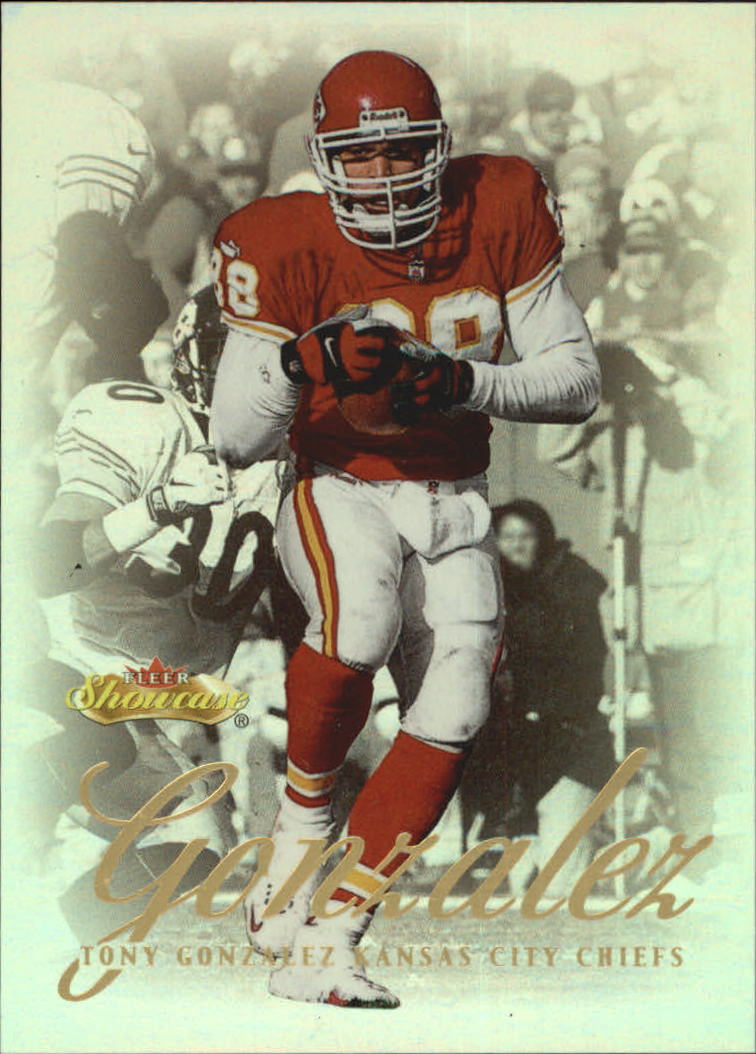 2000 Fleer Showcase #31 Tony Gonzalez