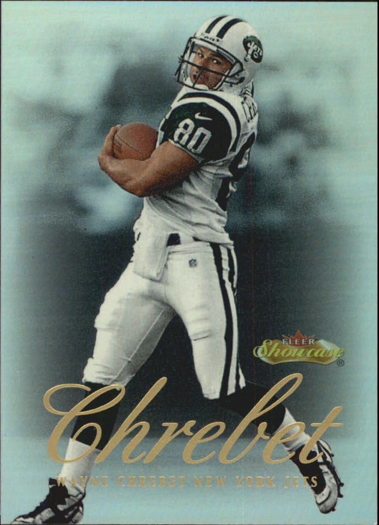 2000 Fleer Showcase #33 Wayne Chrebet