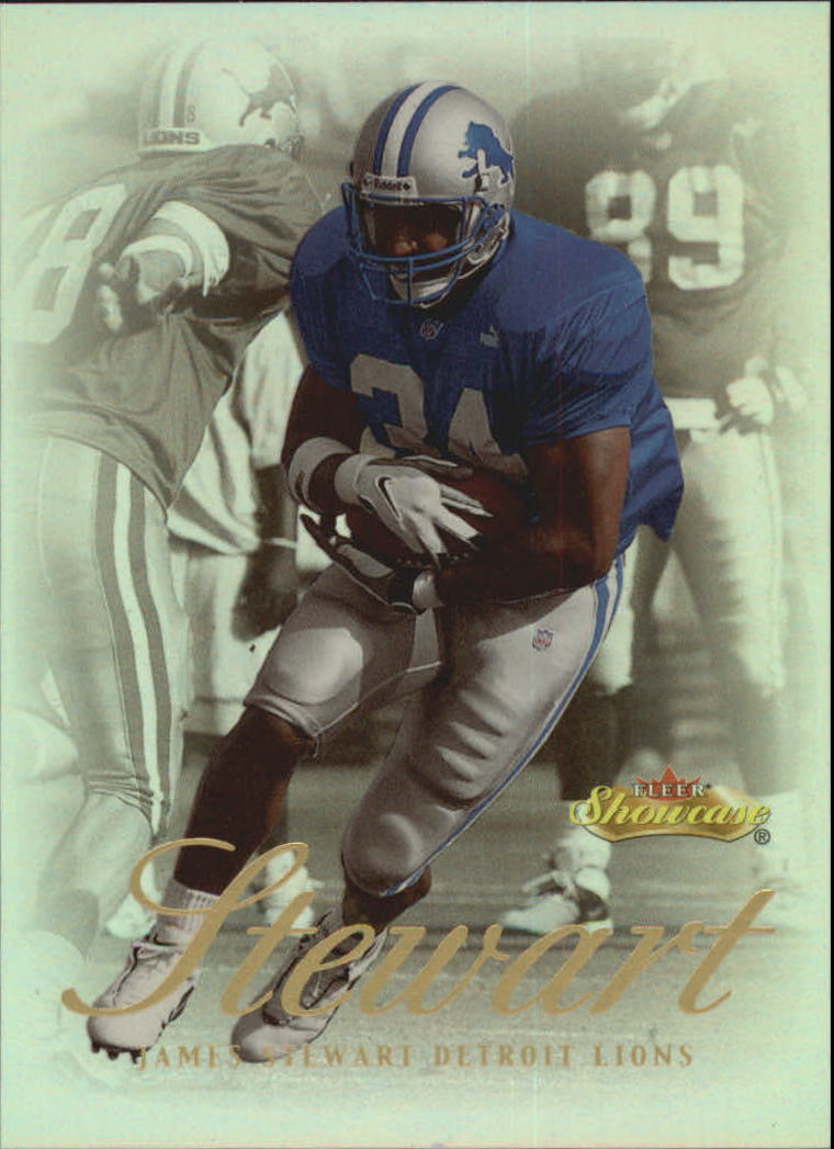 2000 Fleer Showcase #39 James Stewart
