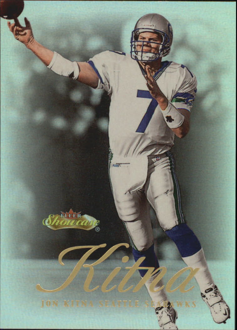2000 Fleer Showcase #40 Jon Kitna