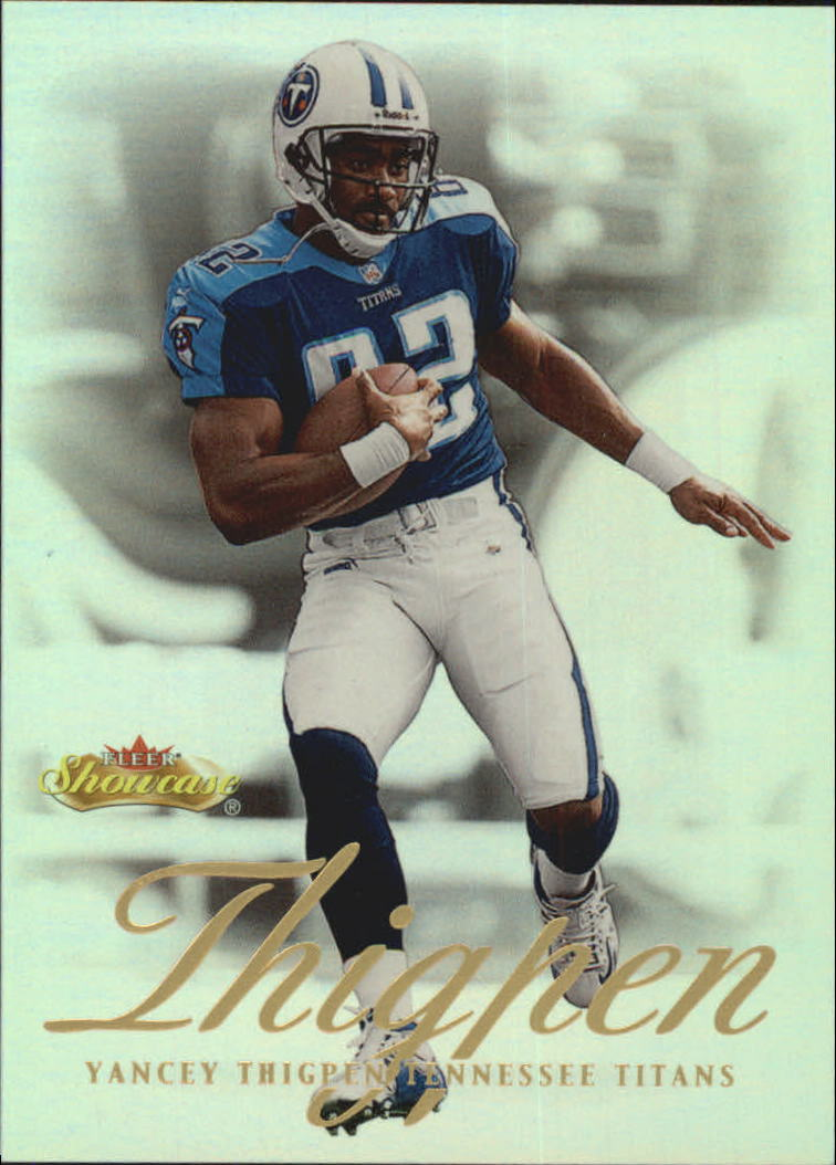 2000 Fleer Showcase #44 Yancey Thigpen