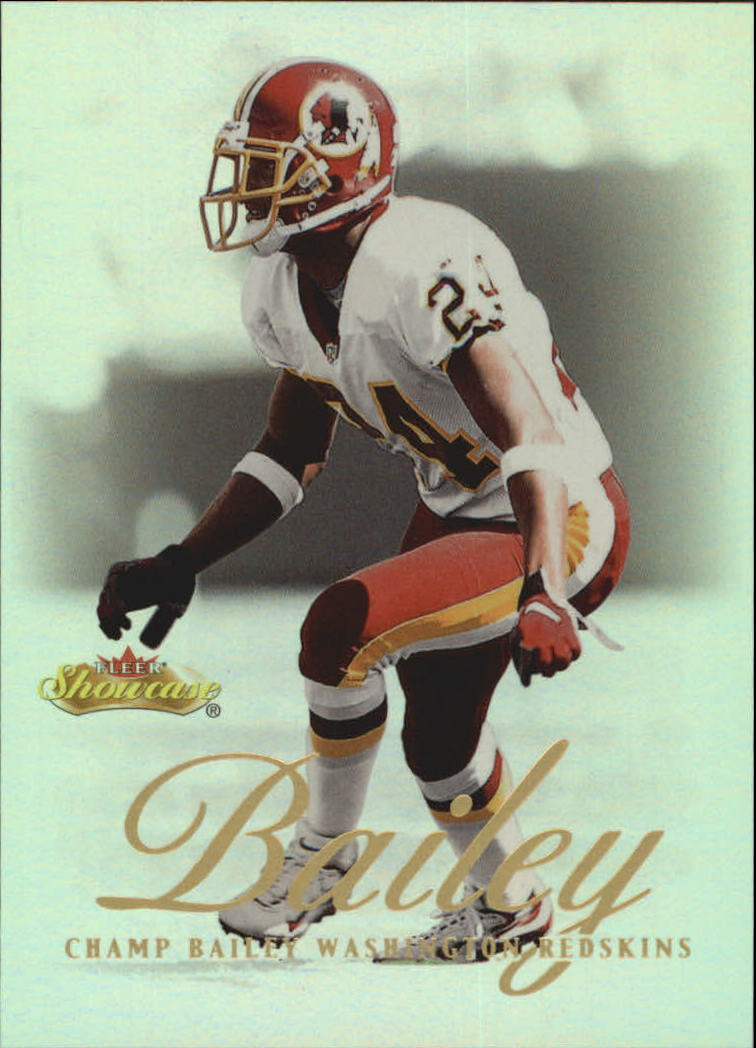 2000 Fleer Showcase #45 Champ Bailey