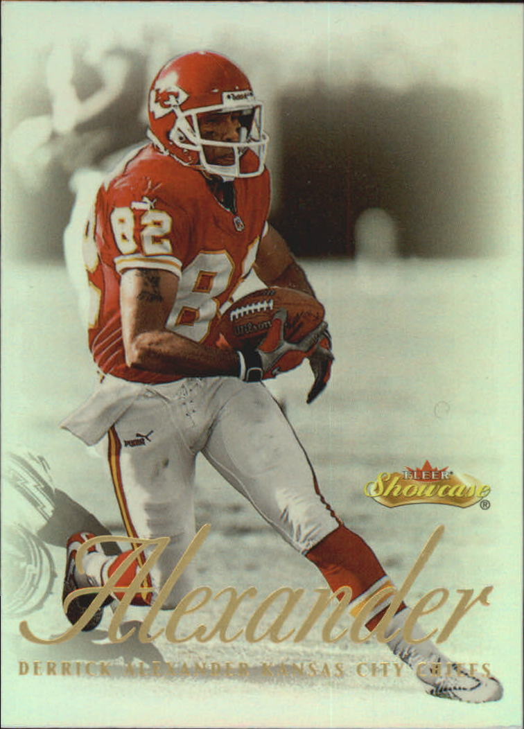2000 Fleer Showcase #48 Derrick Alexander