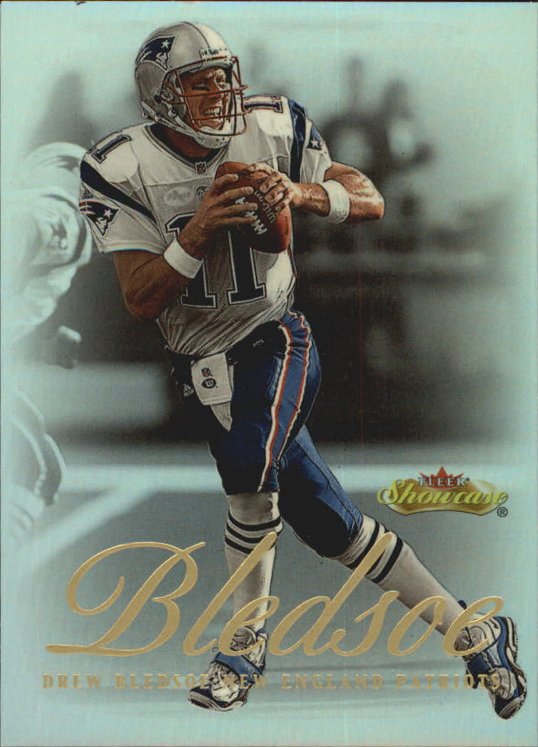 2000 Fleer Showcase #49 Drew Bledsoe