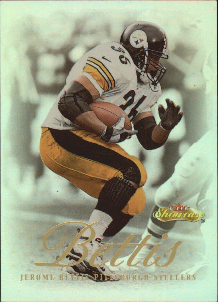 2000 Fleer Showcase #50 Jerome Bettis