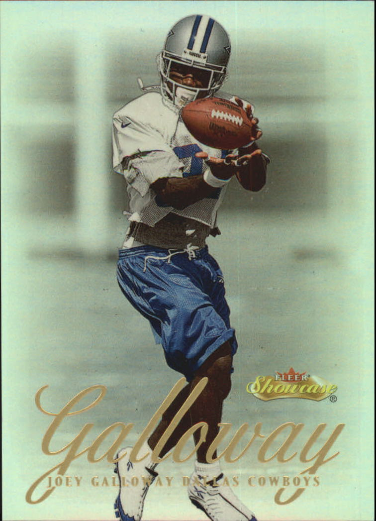 2000 Fleer Showcase #52 Joey Galloway