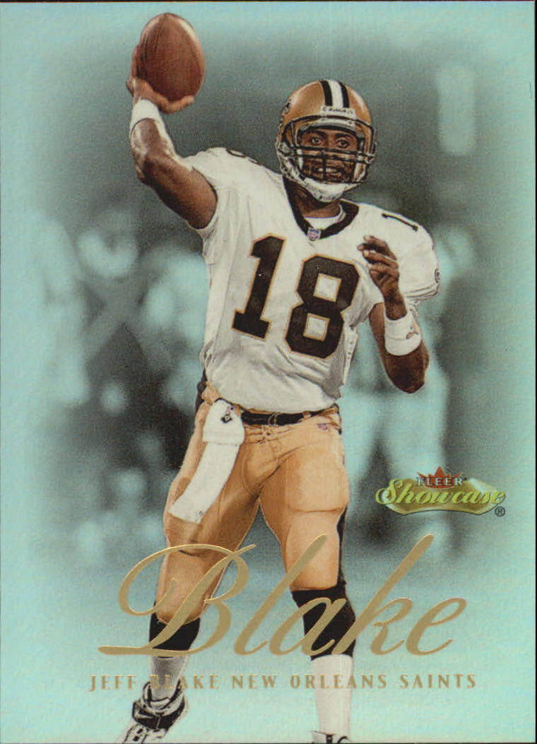 2000 Fleer Showcase #53 Jeff Blake