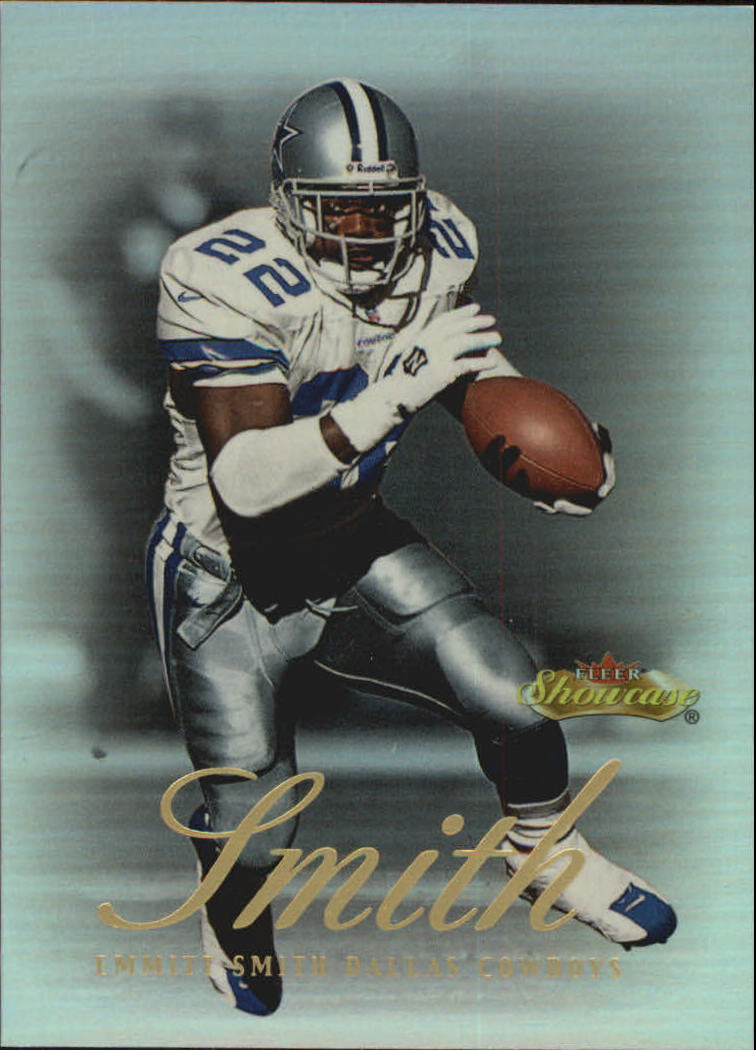 2000 Fleer Showcase #54 Emmitt Smith