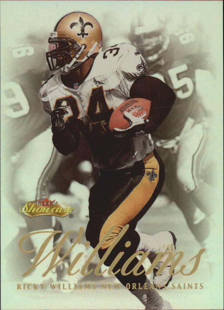 2000 Fleer Showcase #55 Ricky Williams