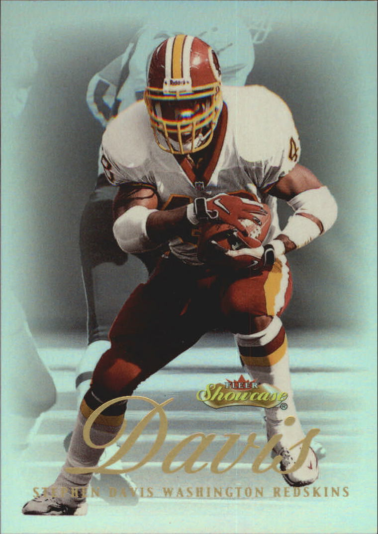 2000 Fleer Showcase #57 Stephen Davis