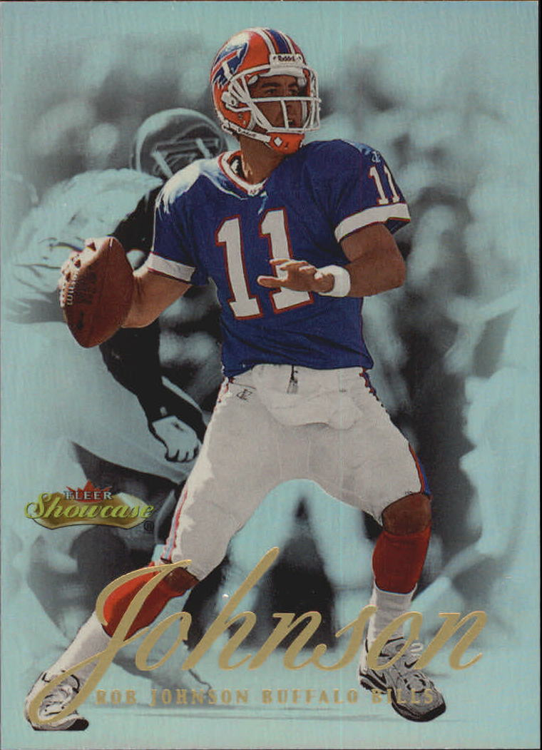 2000 Fleer Showcase #58 Rob Johnson